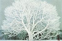 Higashiyama Kaii(new reprint) Beautiful scenery of winter (new reprint picture)