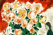 シャガール 花束