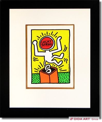 Haring Keith  Lucky Strike NO.3