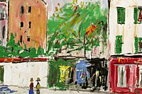 Utrillo Maurice  Lapin  from inspiration village