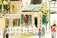 Utrillo Maurice Lapin agile from inspiration village