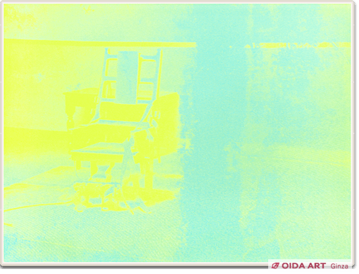 Warhol Andy ELECTRIC CHAIR #77