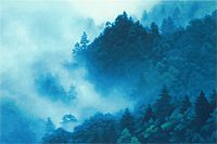 Higashiyama Kaii Peak where cloud appears (new reprint picture)
