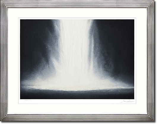 Senju Hiroshi Water fall on lithograph # 1
