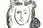 パブロ・ピカソ 若い女性の肖像