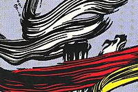 Lichtenstein Roy BRUSHSTROKES