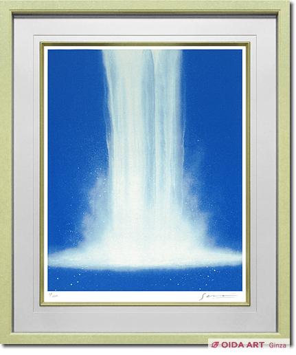 千住博 ウォーターフォール(#096 / 2001年) | 絵画など美術品の販売と ...