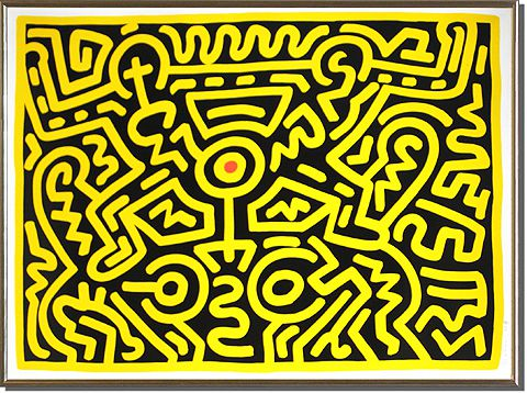 Haring Keith GROWING 1988