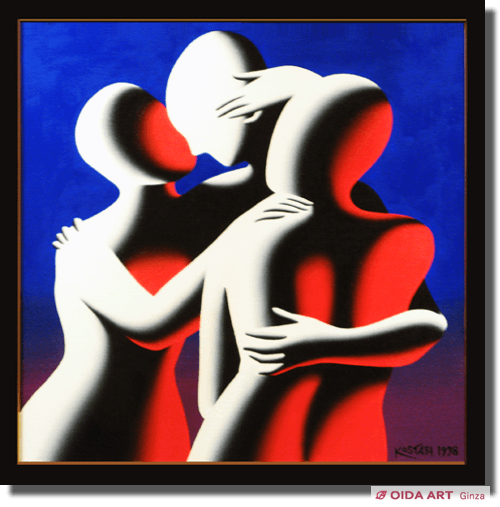 Kostabi Mark THE THREE GRACES (A MOMENT OF COLOR)