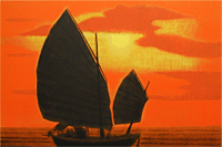 Hirayama Ikuo Silk road Chinese sailer of sea